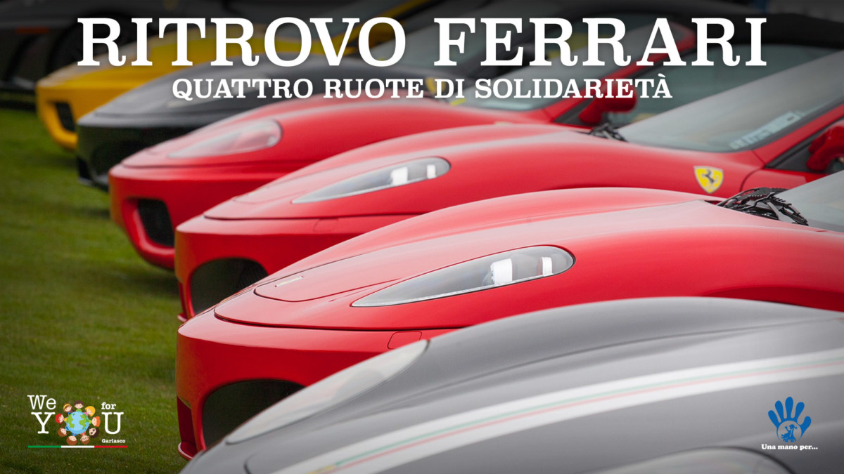 "Ferrari in mostra a Scalo Milano per ""We For You"""