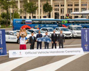 Tucson e Santa Fe nella flotta Hyundai per #Russia2018
