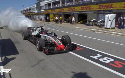 Grosjean-Haas: non ci resta che ridere