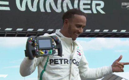 Francia: Hamilton, Verstappen, Raikkonen. Errore Vettel al via