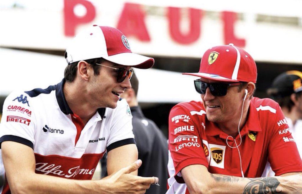 Kimi Raikkonen lascia la Ferrari e arriva Charles Leclerc