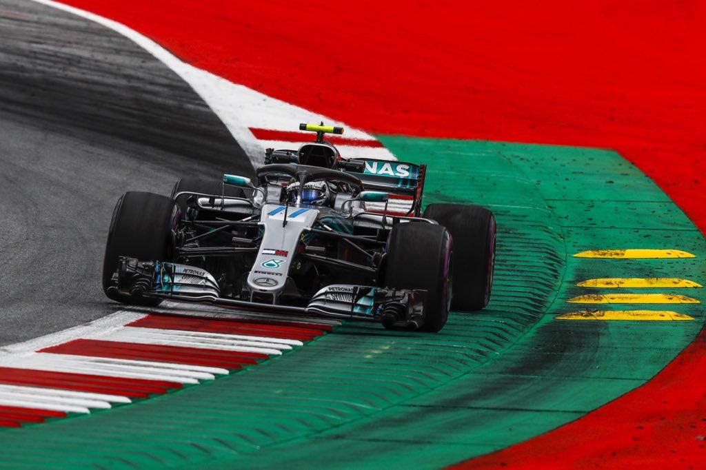 Austria: tra Hamilton e Vettel la pole la fa Bottas