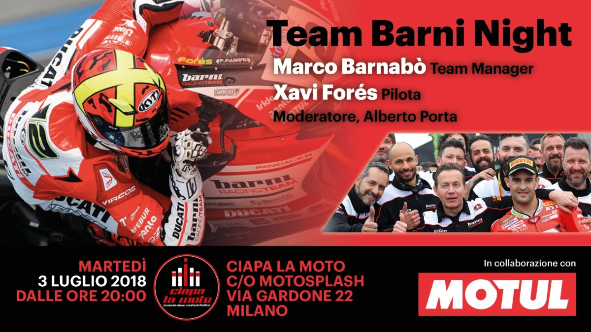 Da Ciapa la Moto la TEAM BARNI NIGHT