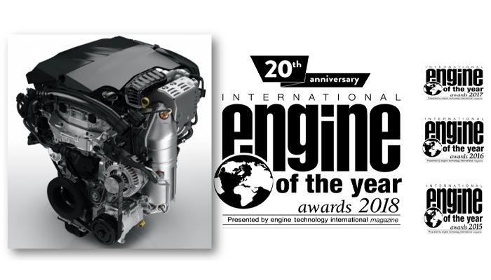 Turbo PureTech PSA per la 4° volta motore dell'anno