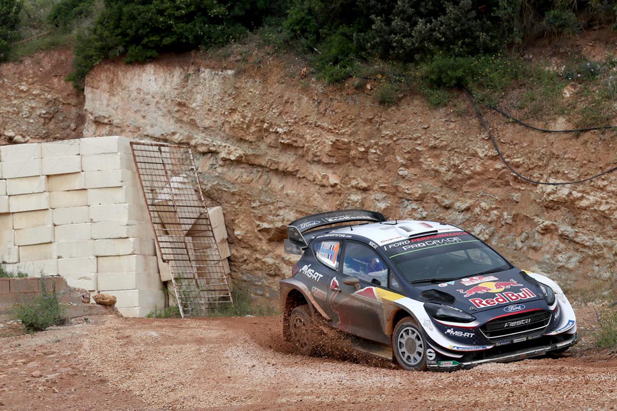 WRC Sardegna: Ogier al comando dopo la prima tappa
