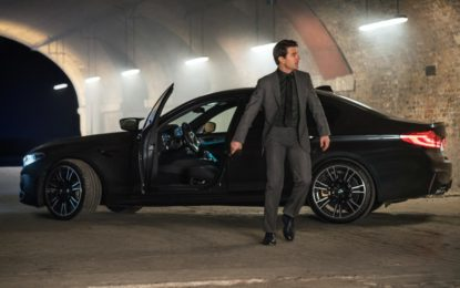 "BMW M5 protagonista di ""Mission: Impossible – Fallout"""