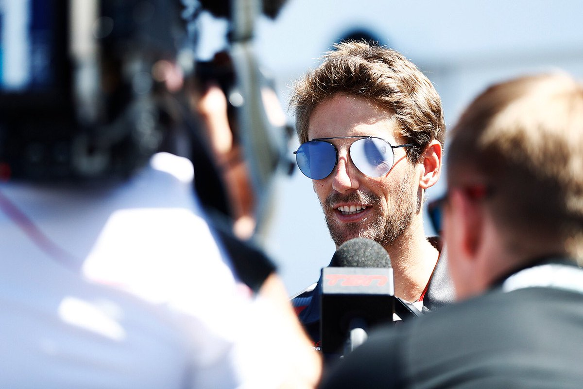 Dopo il break la Haas deciderà su Grosjean