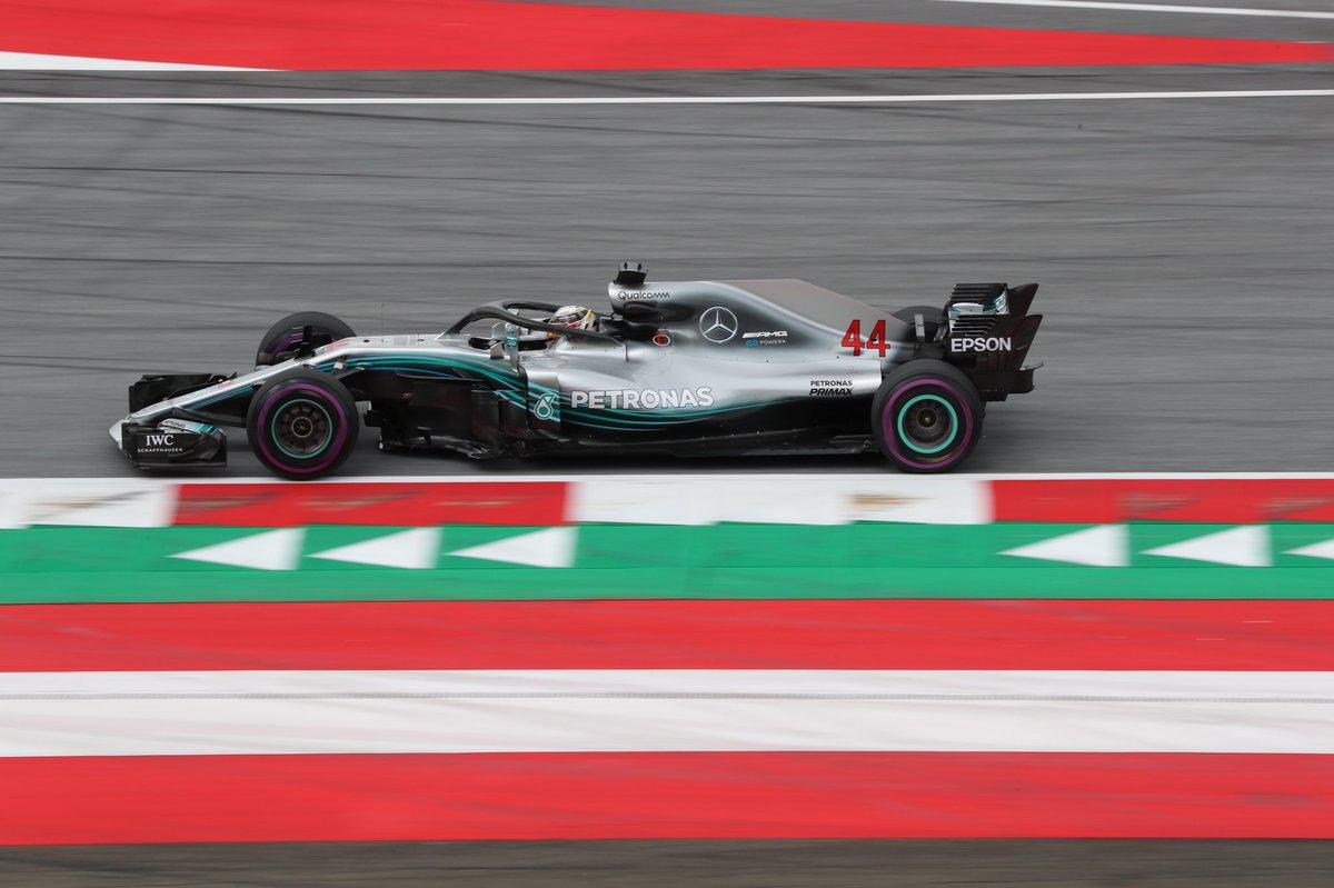 Austria: Mercedes lanciate nelle FP1