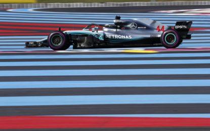 Francia: pole di Hamilton, davanti a Bottas e Vettel