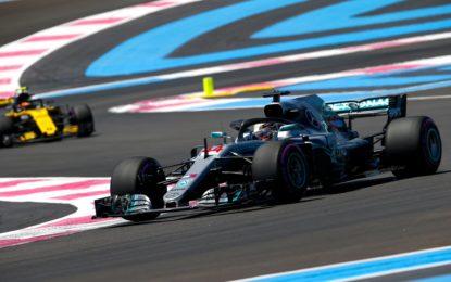 Francia: di nuovo Hamilton davanti alle Red Bull nelle FP2
