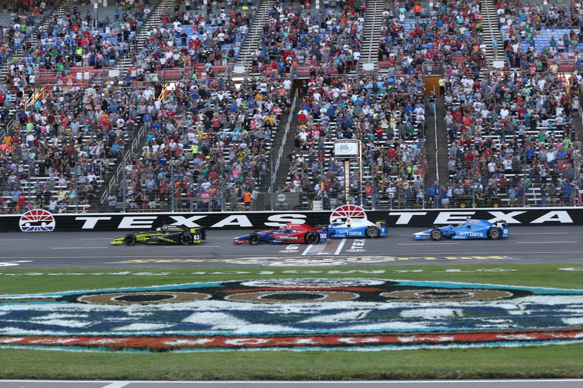 IndyCar: ottavo round al Texas Motor Speedway