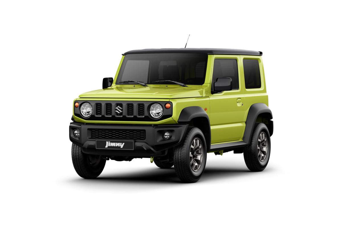 Suzuki JIMNY: ecco la quarta generazione