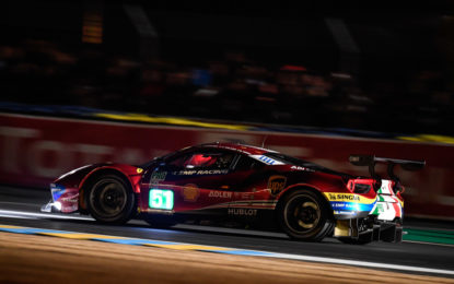 Le Mans: 2° fila per la Ferrari #51 di Pier Guidi-Calado-Serra
