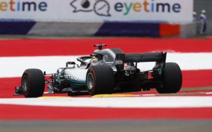 Austria: Mercedes anche nelle FP2, Vettel terzo