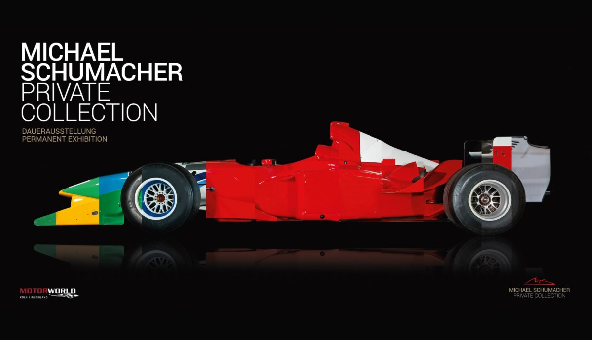Apre a Colonia la Michael Schumacher Private Collection