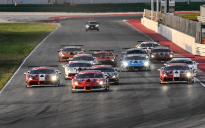 Ferrari Challenge: il punto sulla seconda giornata a Misano