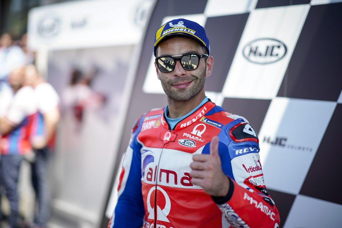 Petrucci ufficiale Ducati nel 2019