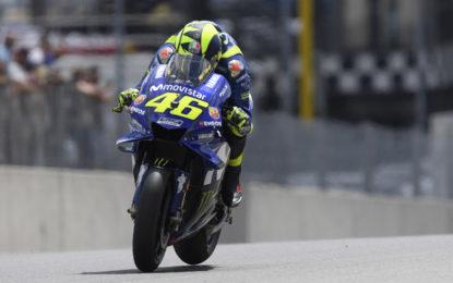 MotoGP: Rossi pronto per un sabato all'attacco