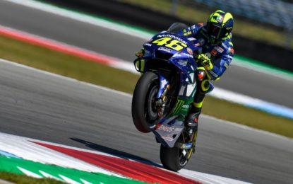 Assen: buone sensazioni per Valentino Rossi