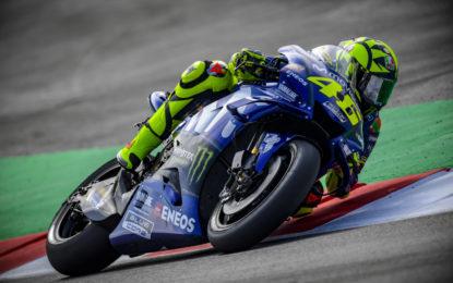 """Rossi: """"Qualifiche condizionate dalla gomma anteriore"""""""