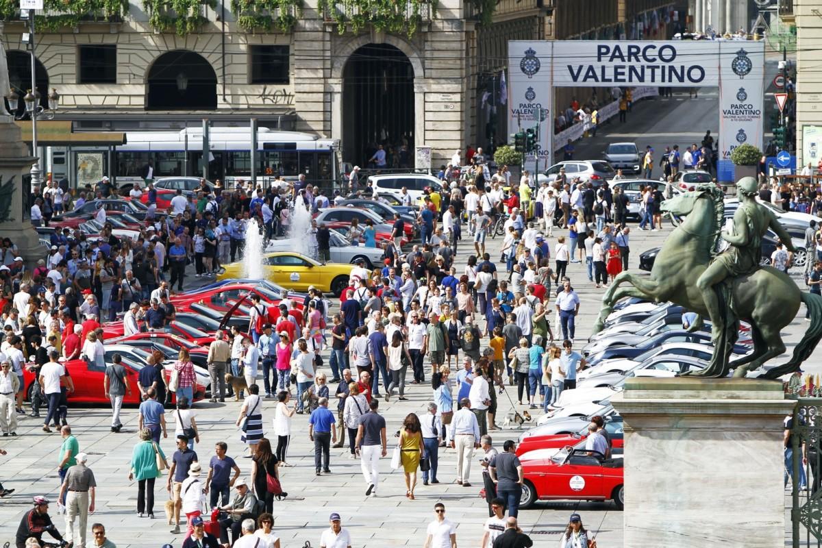 Tanta gente per il 4° Gran Premio Parco Valentino