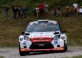 Rally della Marca a Sossella-Falzone su Ford Fiesta WRC