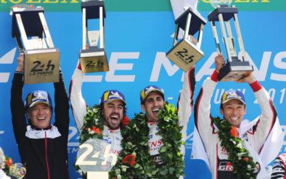Dopo Le Mans Alonso lascia il WEC, al suo posto Hartley