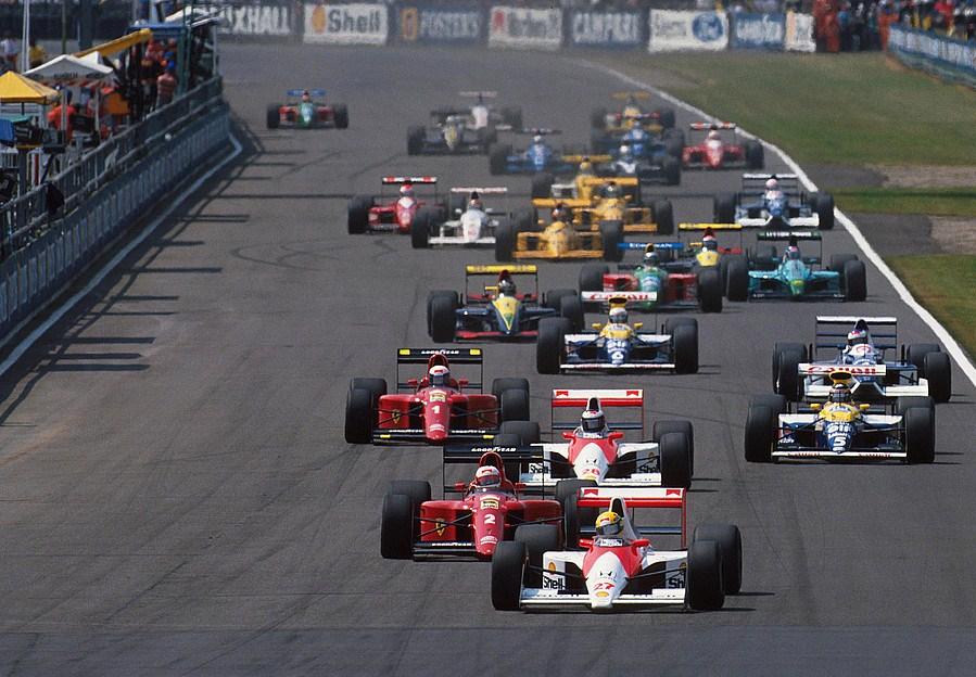Quanto era la bella la F1 d'estate. Da bambino