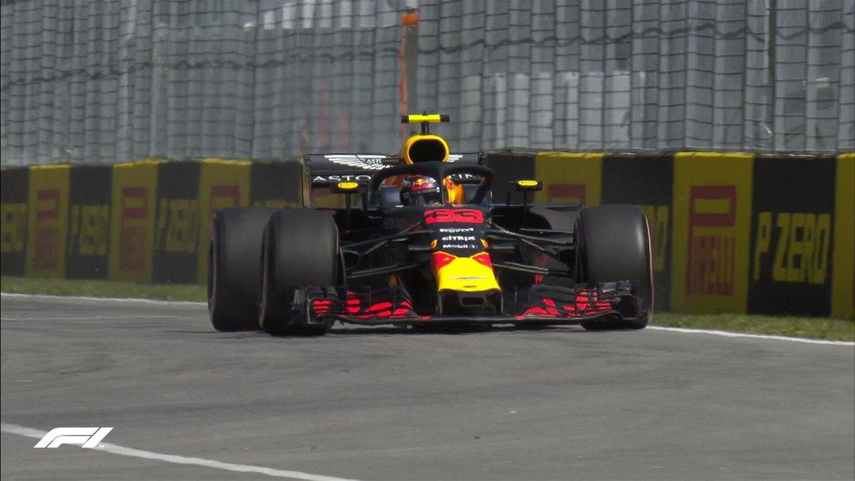 Canada: Verstappen-Hamilton nelle FP1