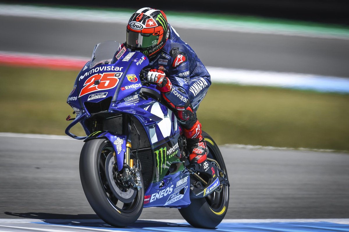 Yamaha in gran forma nelle libere ad Assen