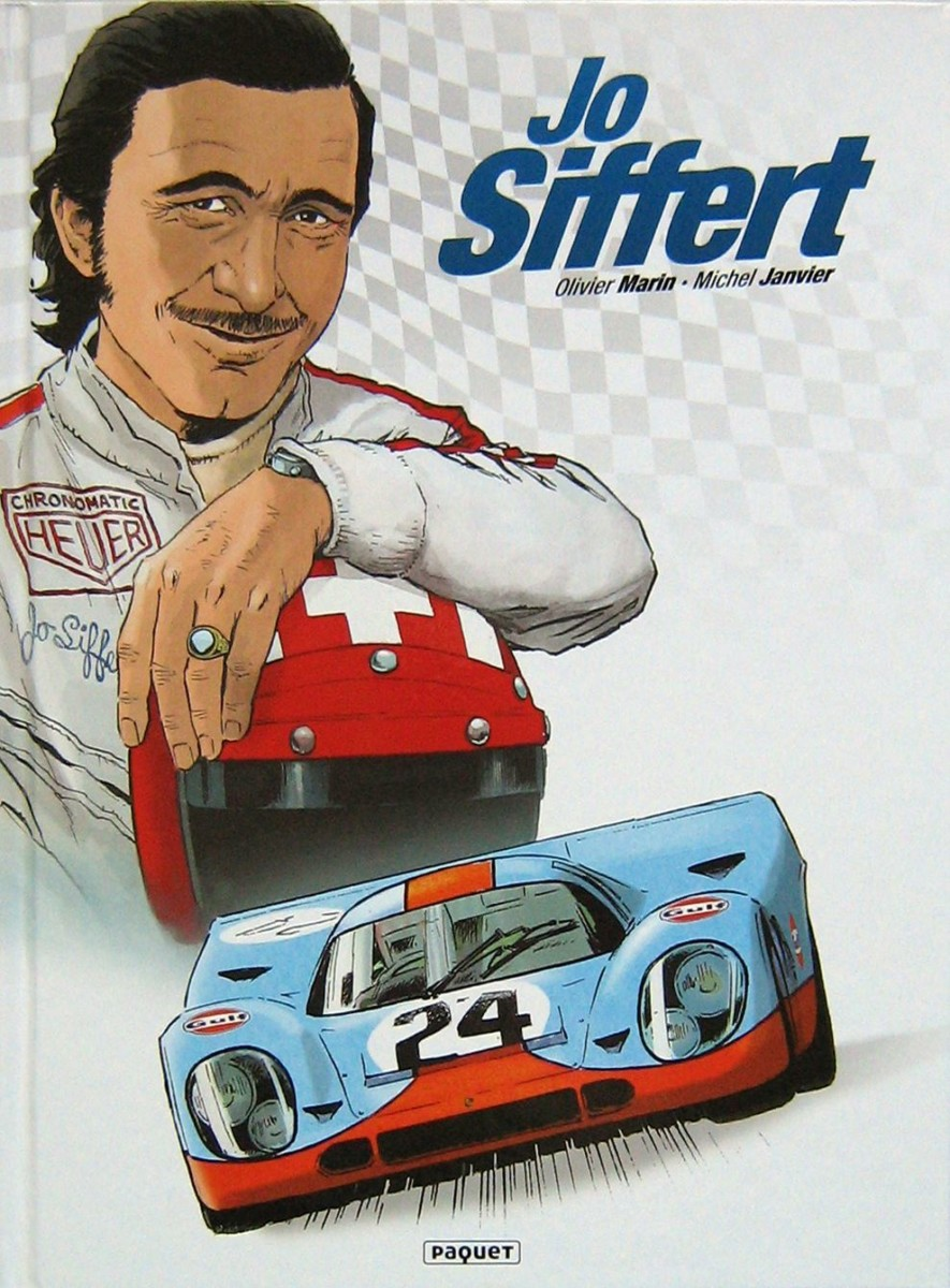JO SIFFERT Fumetto