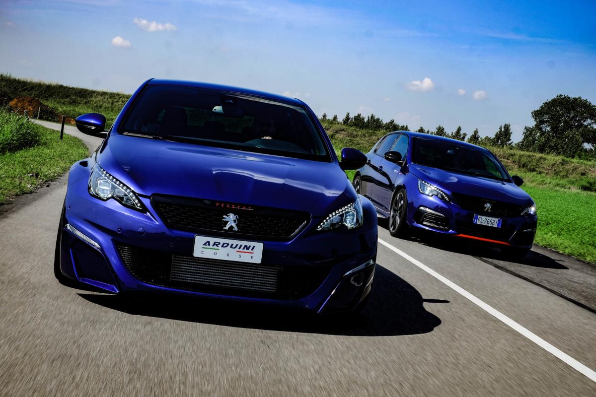 Peugeot 308 by Arduini Corse: sportiva da guidare tutti i gi