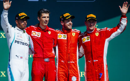 Bottino importante per la Ferrari in Inghilterra