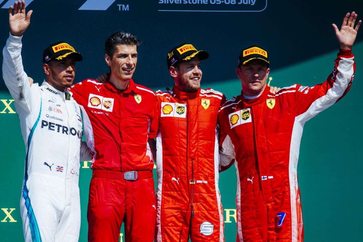 Bottino importante per la Ferrari in Inghilterra