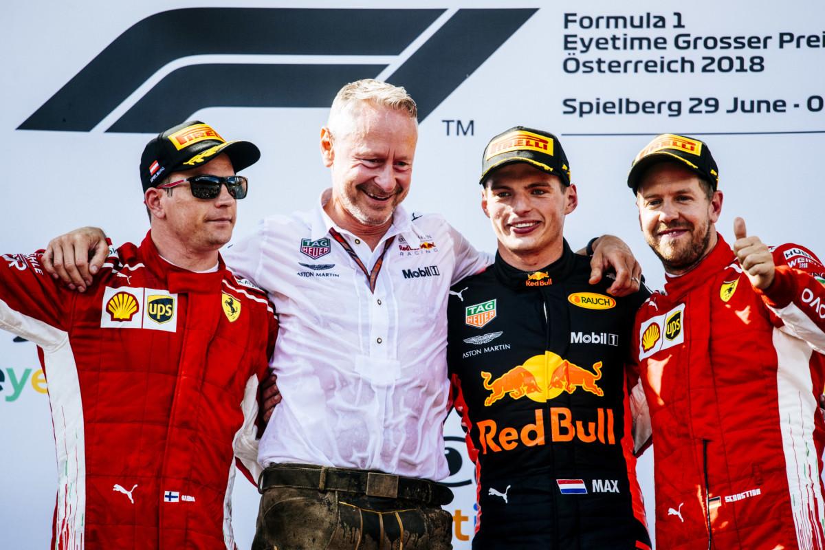 Austria: la Ferrari torna in testa alle classifiche