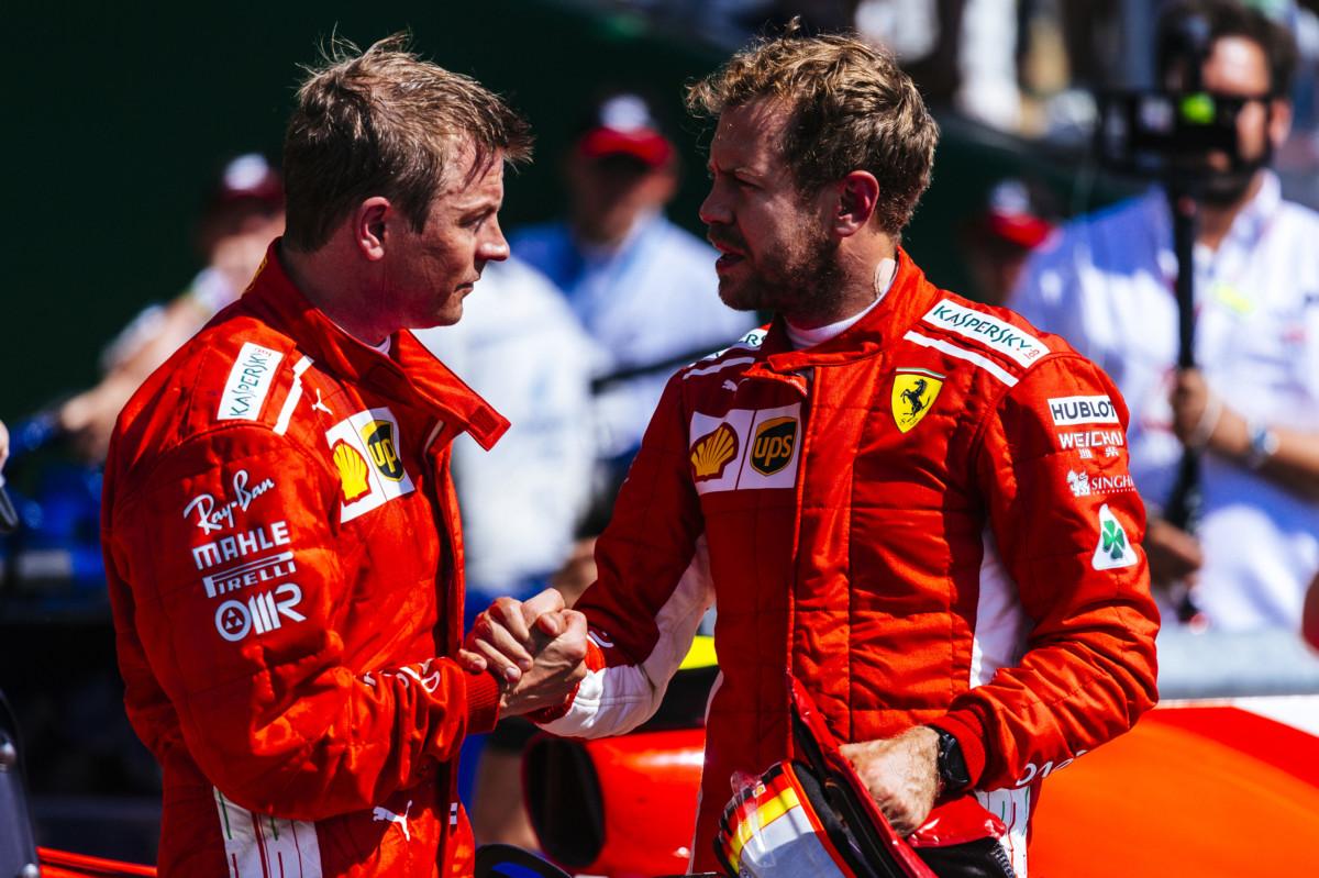 A Vettel spiace perdere Kimi. Leclerc? Non si sono ancora pa