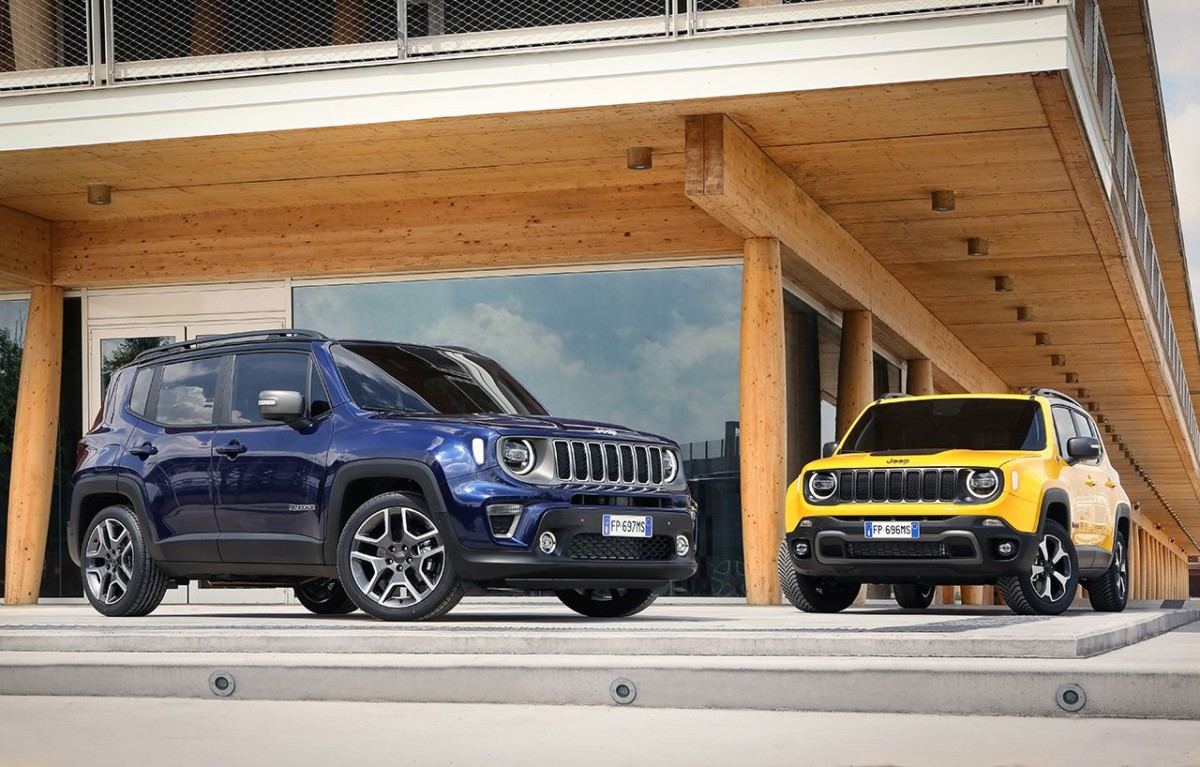 Nuova Jeep Renegade MY 19
