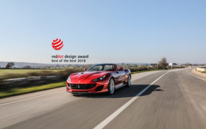 Red Dot Best of the Best per la Ferrari Portofino