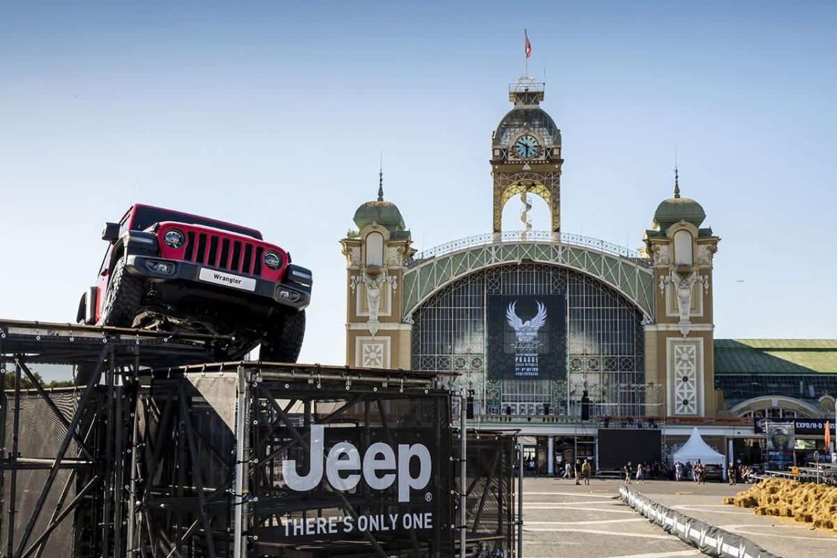 Jeep a Praga per i 115 anni di Harley-Davidson