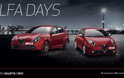 Alfa Days: promozione per Giulietta e Mito