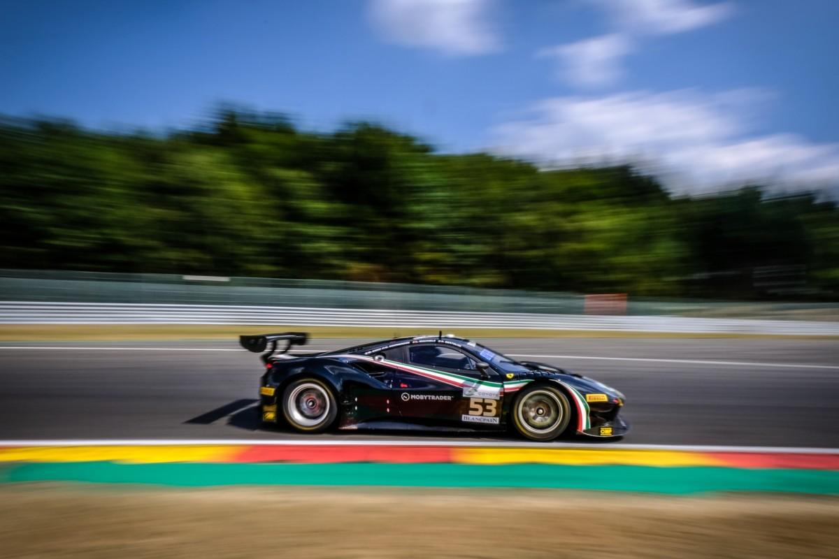 Ferrari con sei equipaggi alla 24 Ore di Spa