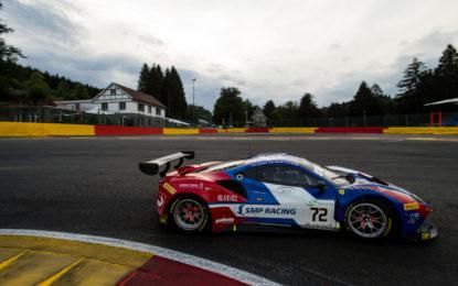 24 Ore di Spa: partenza senza problemi per le Ferrari