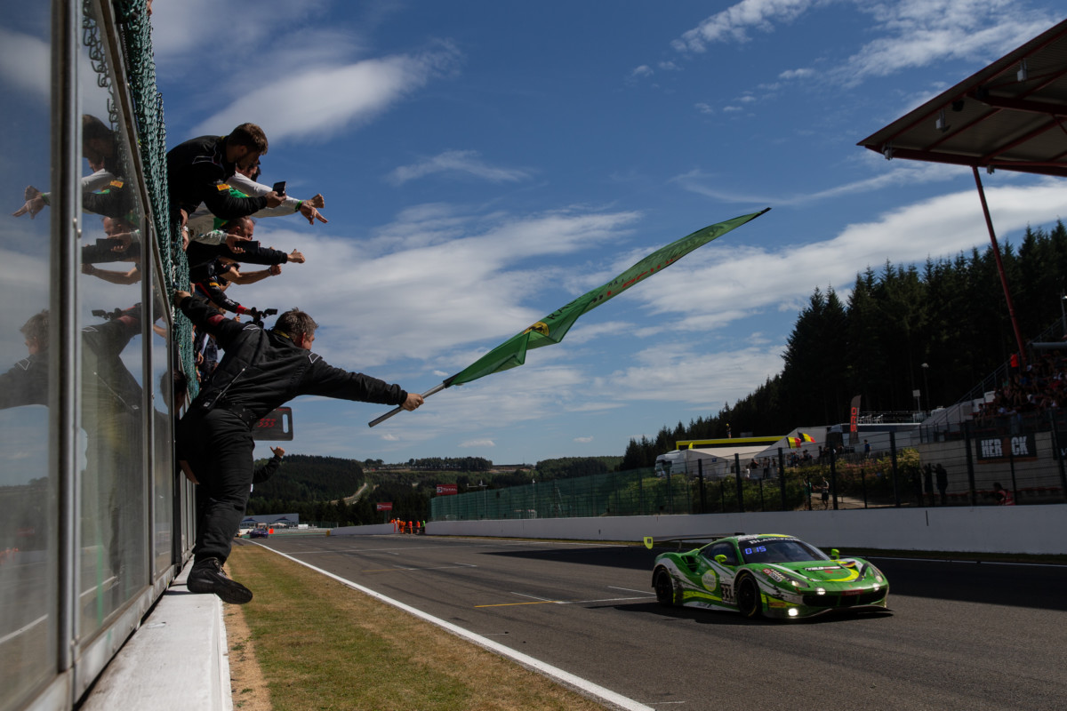 Spa: la Ferrari di Rinaldi Racing vince la Pro-Am Cup