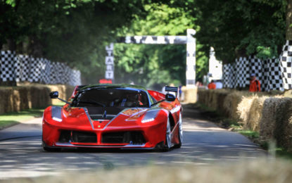 Ferrari in prima linea a Goodwood
