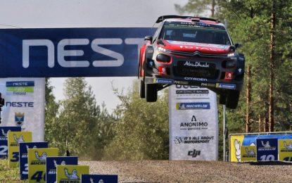 Finlandia: ottimo 2° posto per Ostberg e la C3 WRC