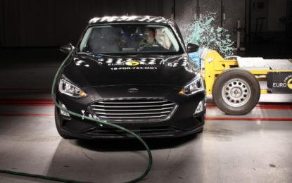 Euro NCAP: 5 stelle per Ford Focus, Volvo XC40 e BMW X4