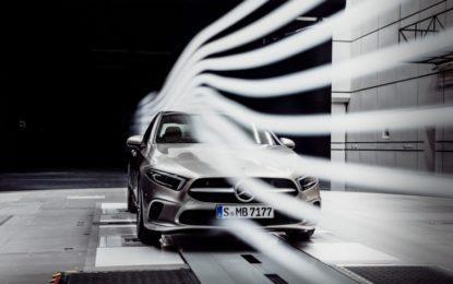 Classe A Berlina: nuovo record aerodinamico