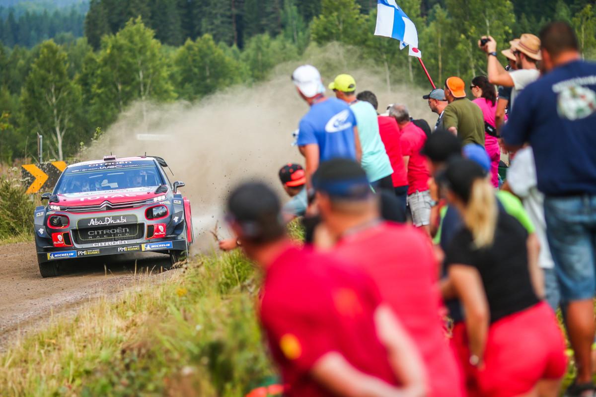 Rally di Finlandia: le C3 WRC ai primi posti