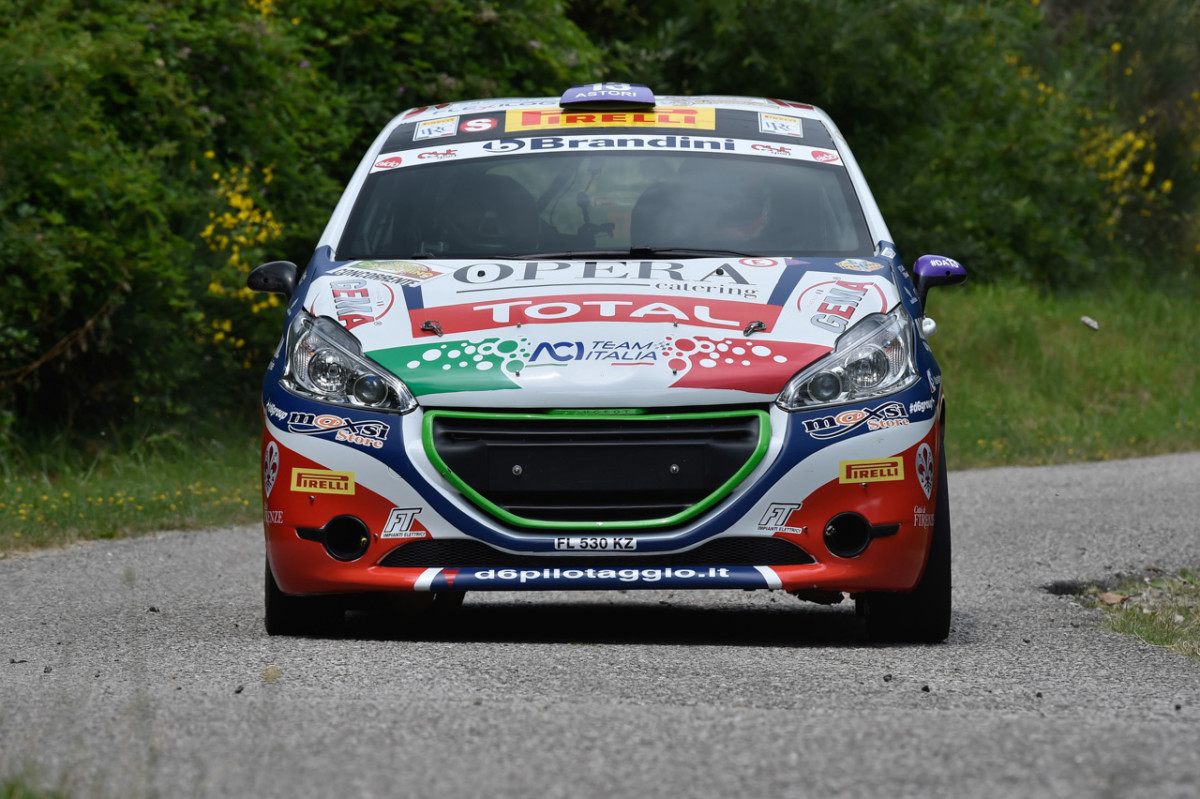Peugeot Competition TOP 208 al Rally di Roma