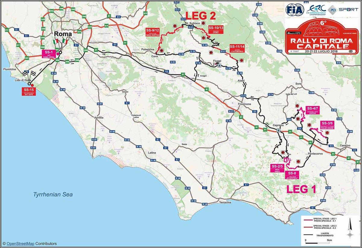 Presentato il 6° Rally di Roma Capitale